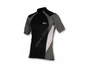 Rogelli Rimini černý Pánský cyklistický dres