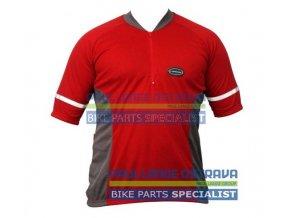 Longus Basic dres červený