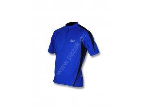 Rogelli Paris modrý Pánský cyklistický dres