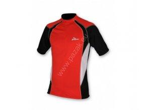 Rogelli Rimini červený  cyklistický dres