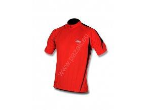 Rogelli Paris červený cyklistický dres