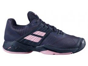 damska tenisova obuv babolat propulse fury all court black pink 76289