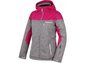 Dámská zimní bunda Hannah Wayve cldbrst mel / fest