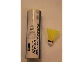Badmintonový míč Pro Kennex nylon modrá barva střední rychlost