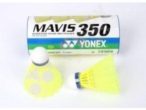 Badmintonový  míč  Yonex  mavis 350 1 ks medium žluté (modrá rychlost)