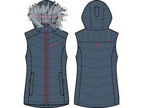 Dámská vesta Alpine pro  Franca 3 LVEH020602