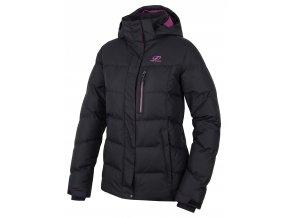 Dámská zimní bunda Hannah Plait Anthracite