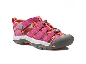 Dět. Sandále Keen Newport H2 very berry/fusion cor