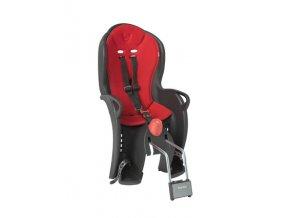 Dětská sedačka zadni Hamax Sleepy černá/červená