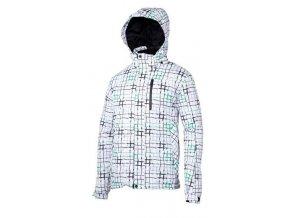 Dětská zimní bunda V3Tec Urian bílo zelená velikost 116