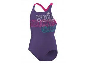 Dívčí plavky adidas yg1pc lin kg  ay1535