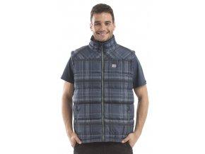 Pánská vesta Alpine Pro Sergio MVED010693 vel. M