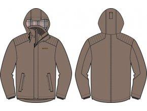 Pánská zim. bunda Alpine Pro Dardano Mjch155915