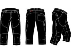 Pánské 3/4 kalhoty Alpine Pro Loffredo mpae014990
