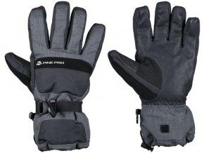 Pánské rukavice Alpine Pro Nusse Mglh015990