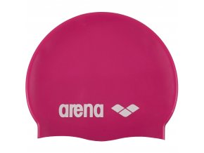 Arena Classic Silicone cap 91662 91 růžová Plavecká čepice