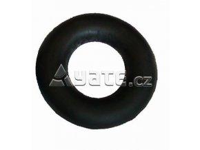 Posilovaci kroužek gumový tuhý černý