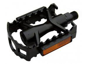 Pedály MTB MAX1 Al monolit černé