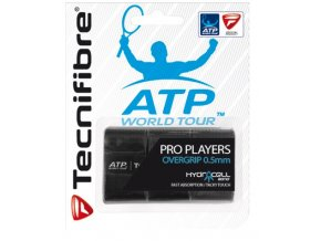Omotávka Tecnifibre Wrap ATP players wrap  black 3 kusy