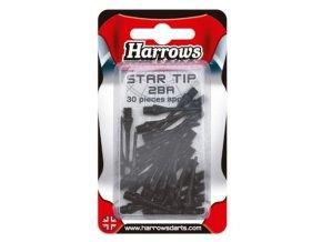 Hroty Harrows star soft 2b black 30 ks