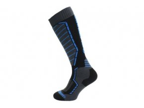 Lyžařské ponožky Blizzard profi ski socks  black/anthracite/blue