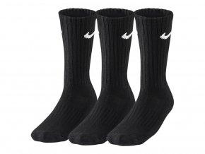 Ponožky Fitness Nike Crew trojbalení SX4508 001 černá