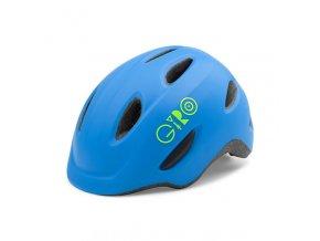 Cyklistická přilba Giro Scamp mat blue/lime