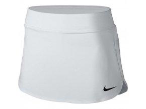 Tenisová sukně Nike Pure 100 bílá