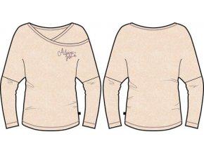 Dámské triko Alpine pro Mala LTSJ183008