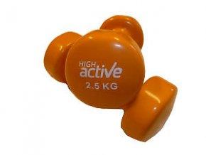 Činka High Active Jednoruční vinylová  2,5 kg oranžová