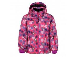 Dívčí lyžařská zimní bunda Kilpi Genovesa  - JG růžová