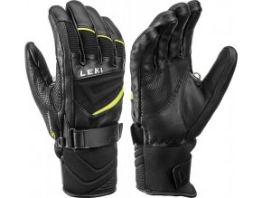 Leki Griffin S black yellow