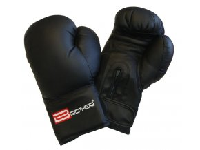 Boxerské rukavice Brother černá  PU Kůže