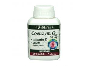 Coenzym Q10 30 mg 60 tobolek+ 7 zdarma