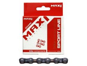 Řetěz MAX1 7 speed,hnědý,116L