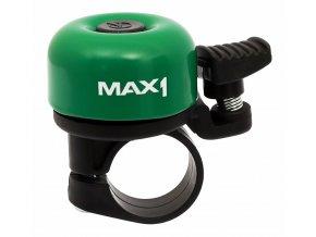 Zvonek MAX1 mini tmavě zelený