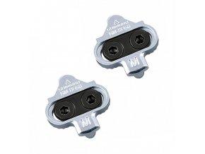 Kufry SHIMANO MTB SPD SM-SH56 stříbrné bez plechů