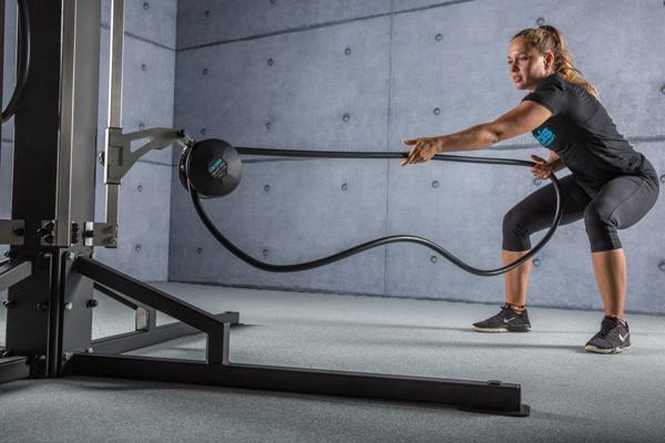 Nekonečné lano - skvělý trénink