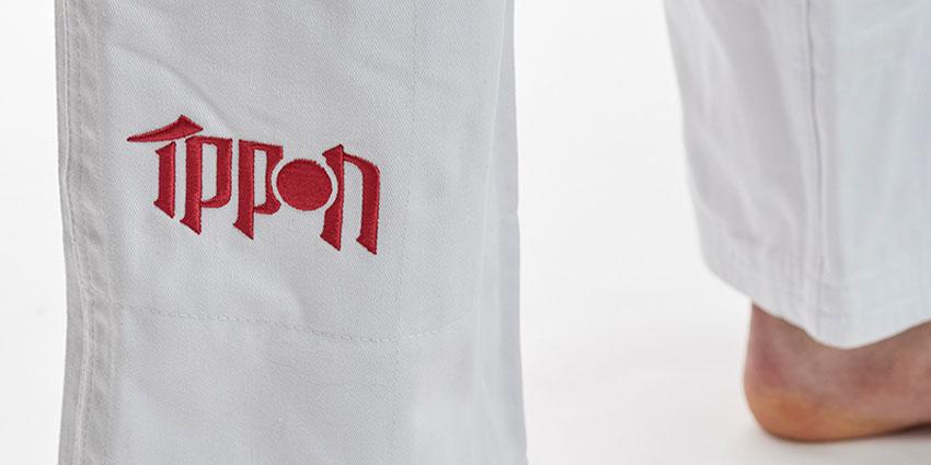kalhoty-na-judo-ippon-gear-2020-bile