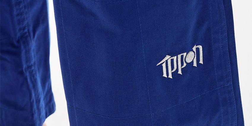 kalhoty-na-judo-ippon-gear-fighter-modre