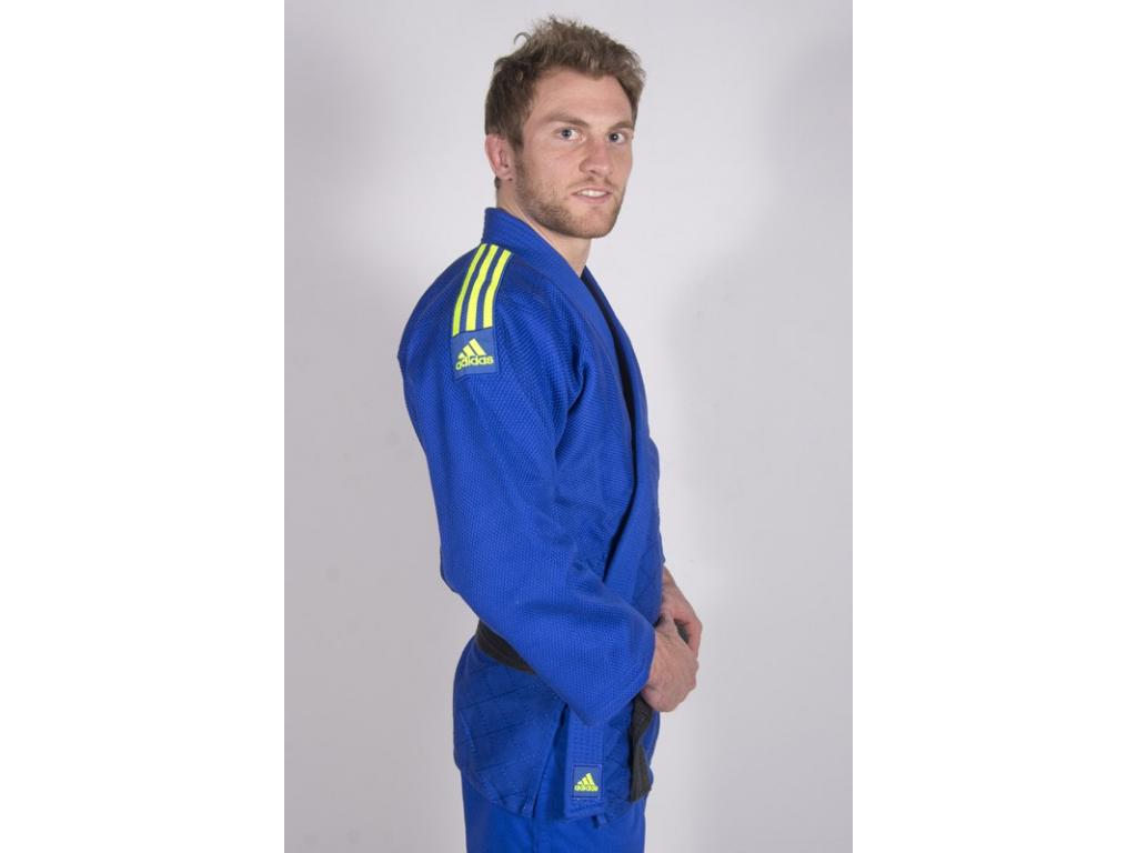 Adidas Quest J690 kimono judo modré