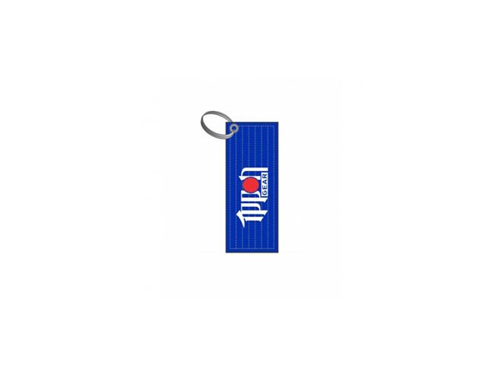 Přívěsek mini pásek modrý