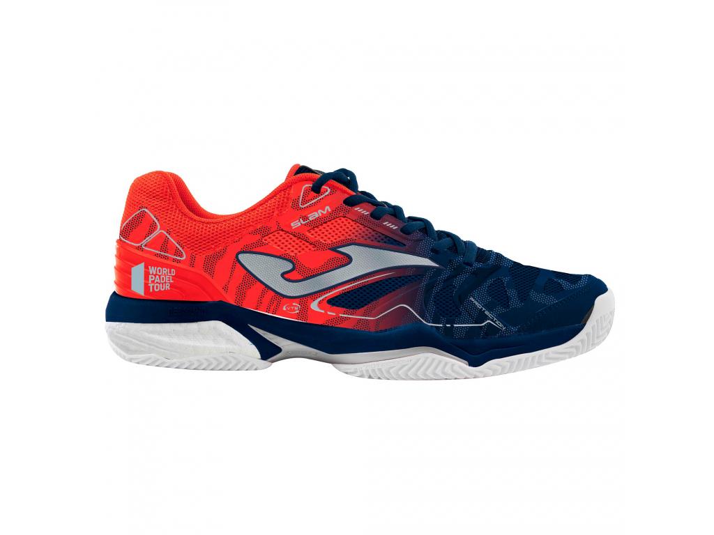 Tenisové boty červeno-modré JOMA Clay 903