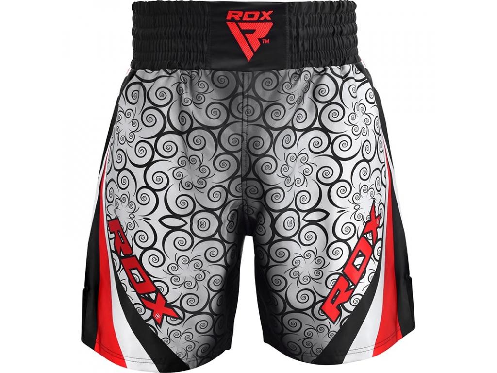 RDX boxerské šortky červené