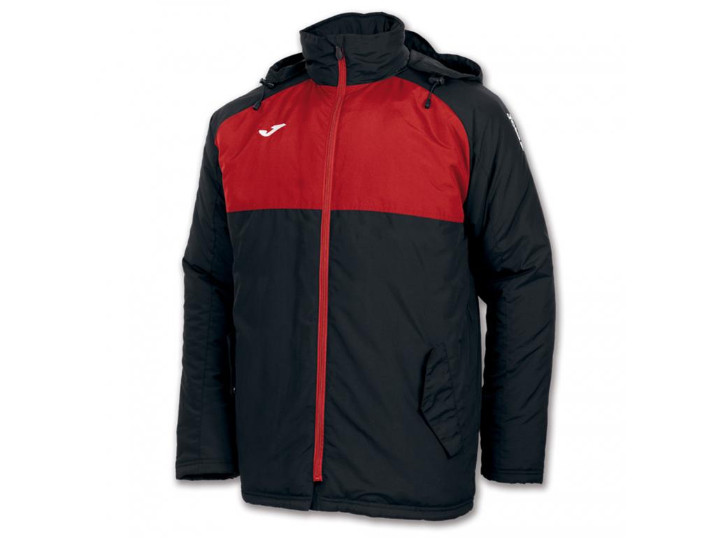 Zimní bunda černo-červená JOMA Andes