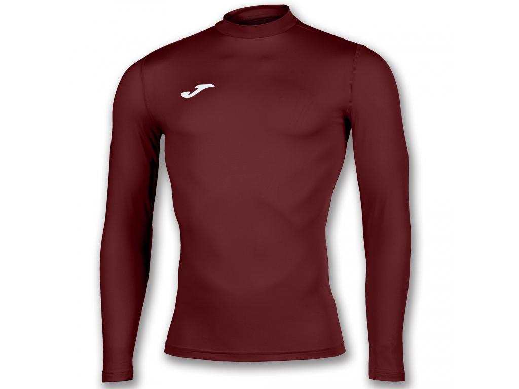Termální tričko maroon JOMA Brama Academy