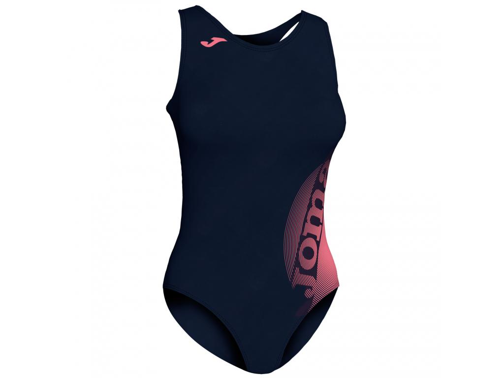 Plavky dámské černo-růžové JOMA Lake II