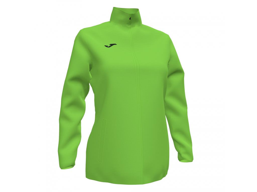 Dámská šusťáková bunda zelená JOMA Elite VII