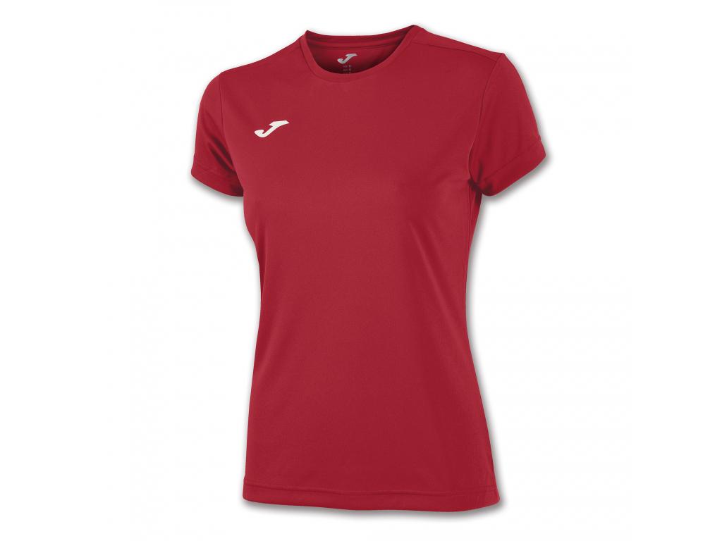 Dámské tričko červené JOMA Combi