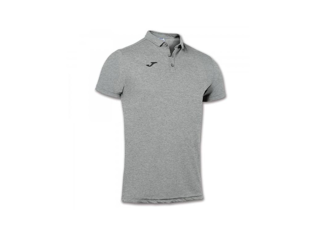 Polo tričko pánské šedé JOMA Hobby